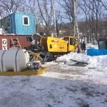 гнб зимой во владивостоке, приморский край