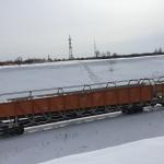 Вид со стороны железной дороги